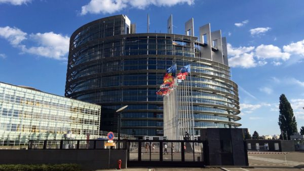 Der Sitz des Europaparlaments ist in Straßburg