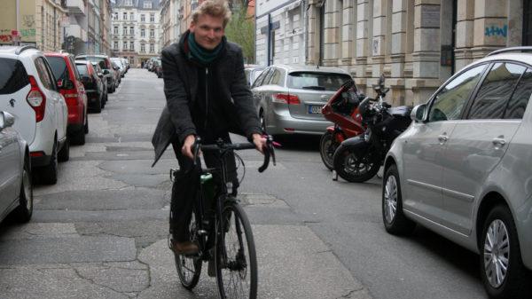 Karl Lampke von Verkehrswende Dresden will eine mutige Verkehrspolitik.