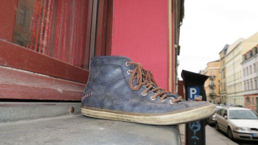Schuhe auf der Louisenstraße