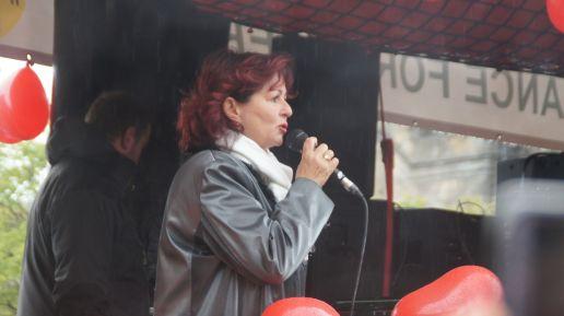 Sprecherin des HOPE-Vereins