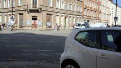 An der Kreuzung Hecht-/Fichtenstraße stand bisher immer eine große Bühne - ob das mit Fahrradbürgeln noch geht, ist derzeit unklar.