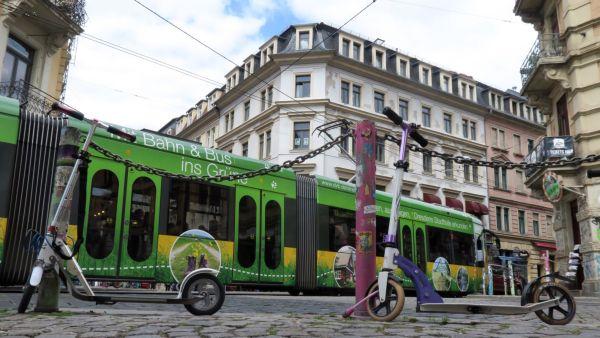ÖPNV, Grünflächen, klassische Architektur. Drei Stärken der Stadt auf einen Blick.