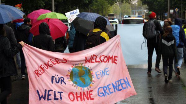 Anti-Abschiebe-Demonstration - Foto: Matthias Schwarz