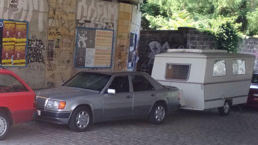 Geklauter Mercedes