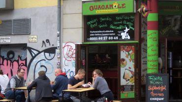 Guacamole auf der Alaunstraße