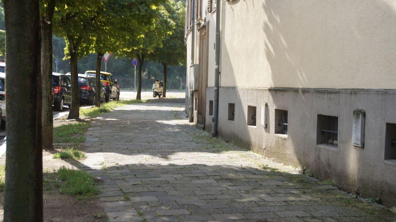 Fußweg der Bärwalder Straße wird ab Montag saniert