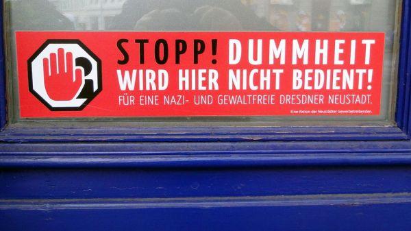 Dummheit wird hier nicht bedient. Foto: Archiv 2010