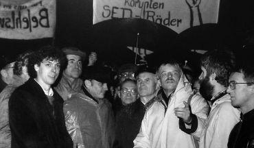 Dresden zur Wendezeit - Foto: Ulrich Häßler