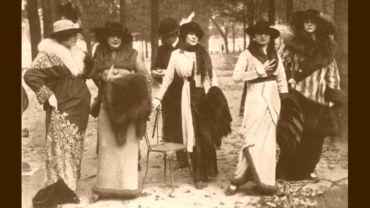 Damenmode vor 100 Jahren