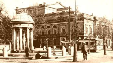 Albertplatz vor rund 100 Jahren
