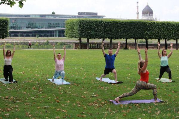 Yoga-Lehrerin Mandy Frauenlob