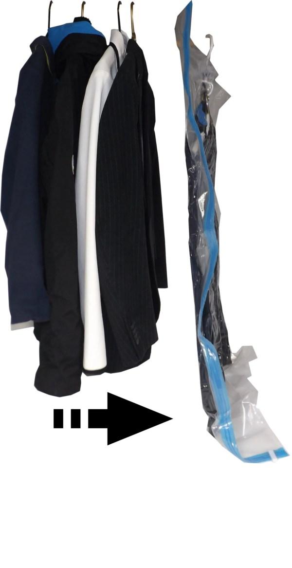 hanging bag comparison steps