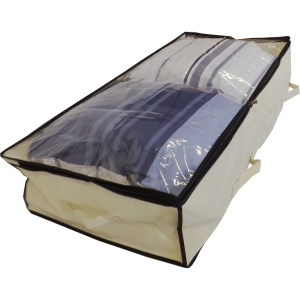 Underbed Bag Clear Lid Left Side square