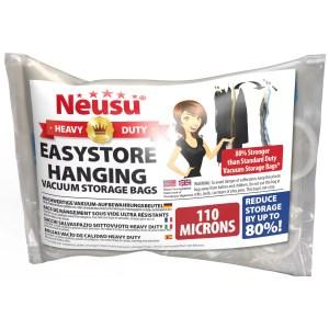 EaasyStore Hanging Vacuum Storage Bags Pack