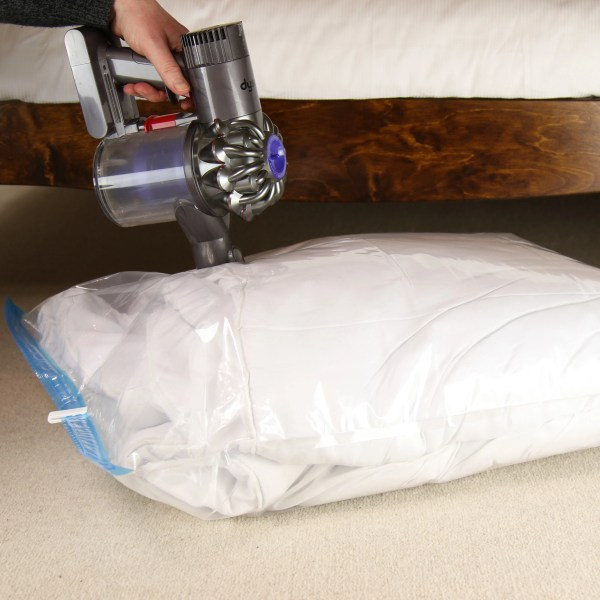 vacuum bag usage