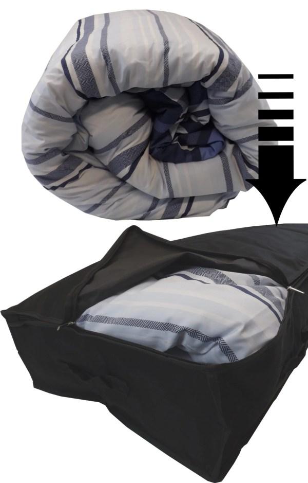 85L underbed bag contents
