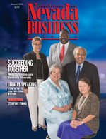 Nevada Business Magazine August 2005 View Issue