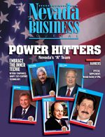 Nevada Business Magazine July 2005 View Issue