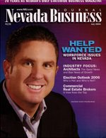 Nevada Business Magazine August 2006 View Issue