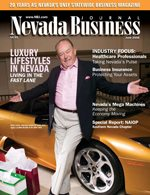 Nevada Business Magazine June 2006 View Issues