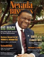 Nevada Business Magazine February 2002 View Issue