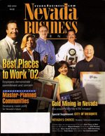 Nevada Business Magazine July 2002 View Issue