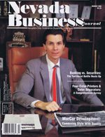 Nevada Business Magazine March 1988 View Issue