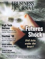 Nevada Business Magazine October 1998 View Issue