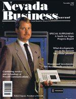 Nevada Business Magazine November 1989 View Issue