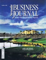 Nevada Business Magazine October 1995 View Issue