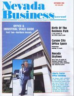 Nevada Business Magazine September 1986 View Issue