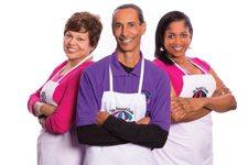 Wanda Alexander, Elbert Sr. and Denette Braud The Funnel Cake Café