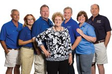 John and Gail Kaiser, Gary, Betty and Bob Gripentog, Linda and Bruce Nelson Las Vegas Boat Harbor