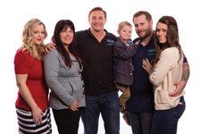 Ali Wesson, Jan, Dave, Sam, Drew and Jill Marson Nature's Bakery