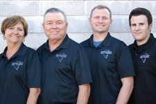 Minette, Don and Donny Curnutt, Corey Walker Southern Nevada Pest Control