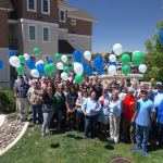 The Nevada Rural Housing Authority Team and Larios Arms II Partners Celebrate at the Grand Opening