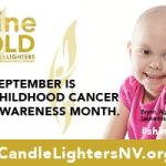 Community joins Candlelighters for shineGOLD Campaign for Childhood Cancer — Several ways to participate in September