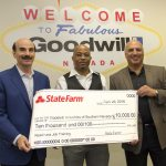 Goodwill of Southern Nevada is honored to receive a $10,000 State Farm Good Neighbor grant from State Farm Insurance to help fund life changing work.