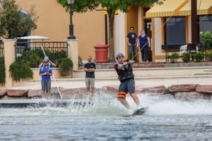 The exhilarating sport of cable wakeboarding has arrived in Nevada, and it's only available at the Lake Las Vegas community's private 320-acre lake