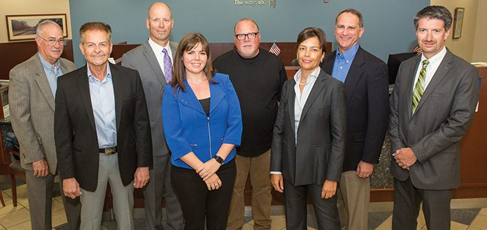 Leaders in manufacturing recently met at City National Bank to discuss the challenges and opportunities facing their businesses moving forward.