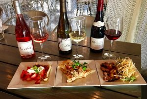 Roundabout Grill, a restaurant featuring Chef Colin Smith, will debut a Tasting Trio wine and appetizer pairing starting Friday, August 25, 2017.