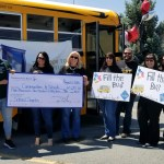 Nevada State Bank showed its support again this year by collecting schools supplies and donations for Communities in Schools (CIS) of Nevada.