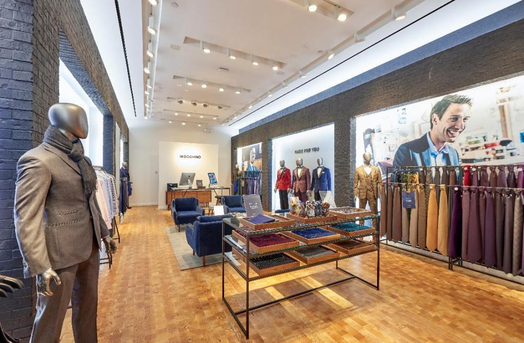 Indochino showroom at Fashion Show, Las Vegas