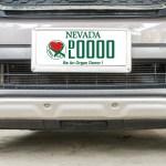Nevada Organ Donor specialty license plates  organ donor license plate-f9266182