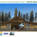 Spooner Lake Rendering Visitor Center