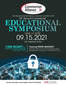 The CALV Education Symposium will take place on 15 September.