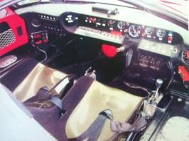 GT 40 interior