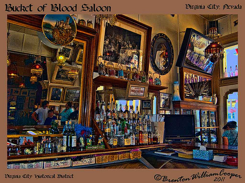 Bucket of Blood Saloon, Virginia City, Nevada