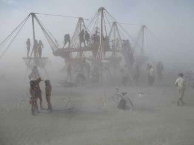 Windstorm at Burning Man, 2015