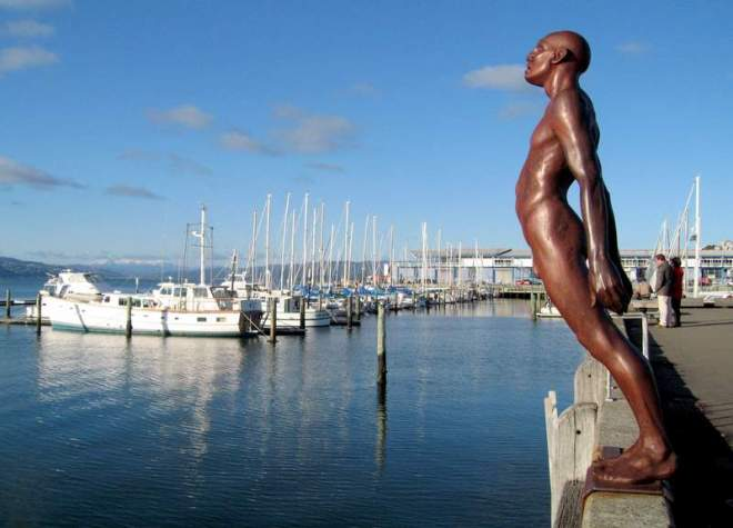 Solace of the Wind, Wellington Harbor, New Zealand